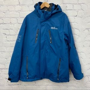 Ecko Function Mens Blue Winter Jacket
